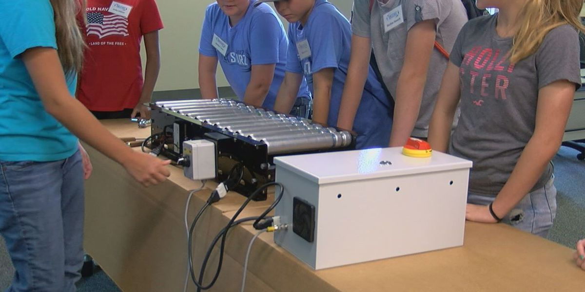Students learn what Jonesboro's manufacturing industry has to offer