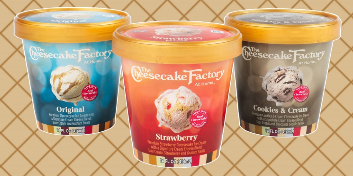 Cheesecake Factory releasing cheesecake flavored ice cream