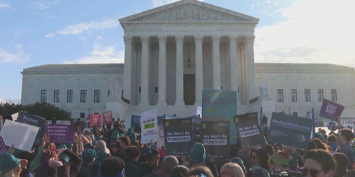 Abortion access in Louisiana under review at the U.S. Supreme Court