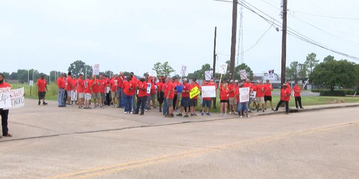AT&T employees go on strike