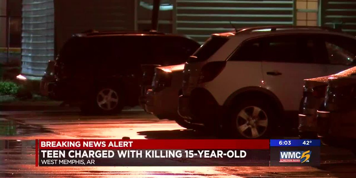 Teen charged with killing 15-year-old