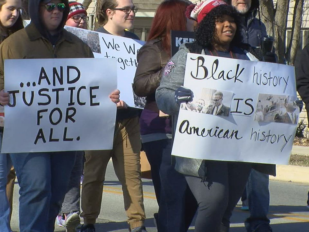 Hundreds march, celebrate Martin Luther King, Jr. Day in Jonesboro