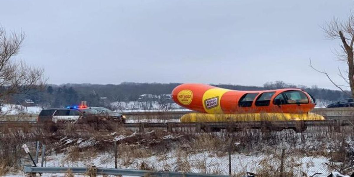 Wienermobile runs afoul of the law in Wisconsin