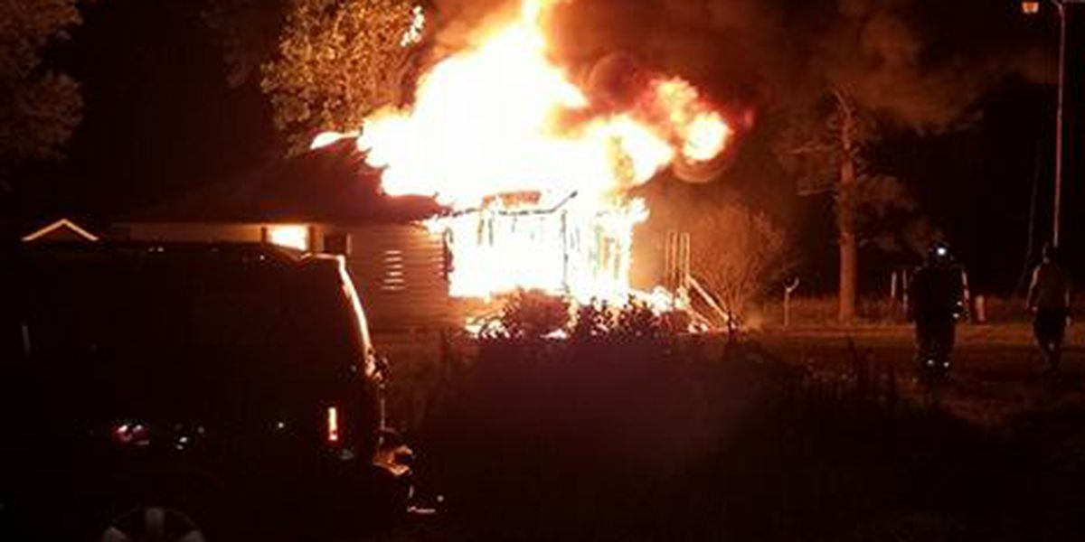 Early morning fire destroys structure in Poinsett Co.