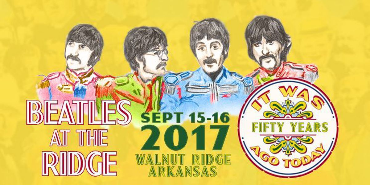 Beatles at the Ridge set for Sept. 15-16
