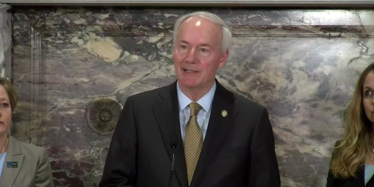 Gov. Hutchinson not considering shutting down schools, businesses