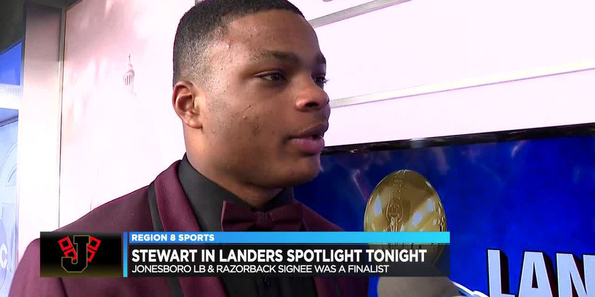 Jonesboro's Jashaud Stewart on Landers Award radar