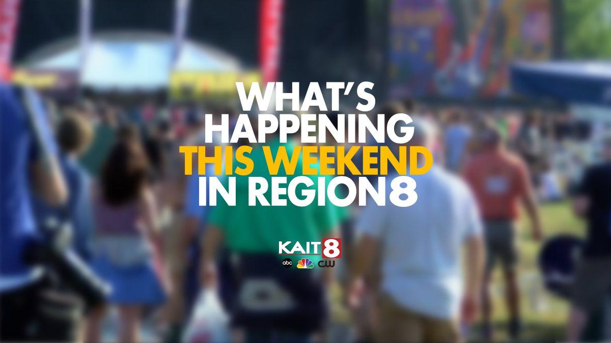 Happening this weekend in Region 8