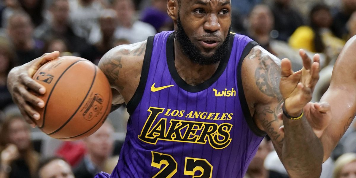507e4d10290 He promised  LeBron James is the AP s male athlete of 2018