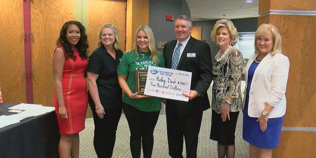 Region 8 Teacher of the Year announced; Scholarship Salute finalists named
