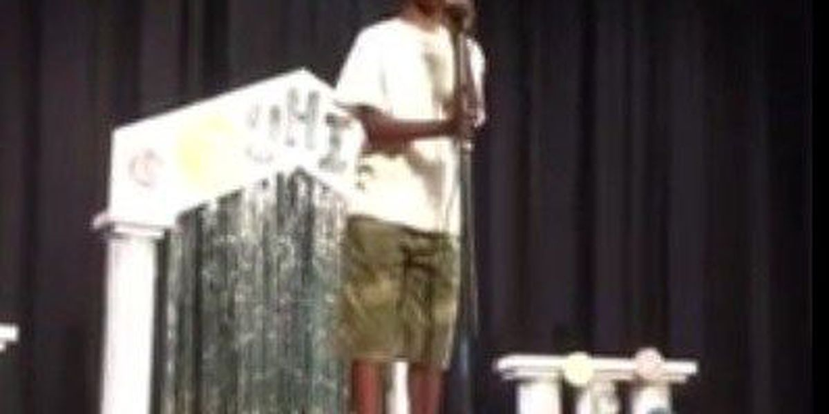 Boy wows talent show by singing Whitney Houston cover
