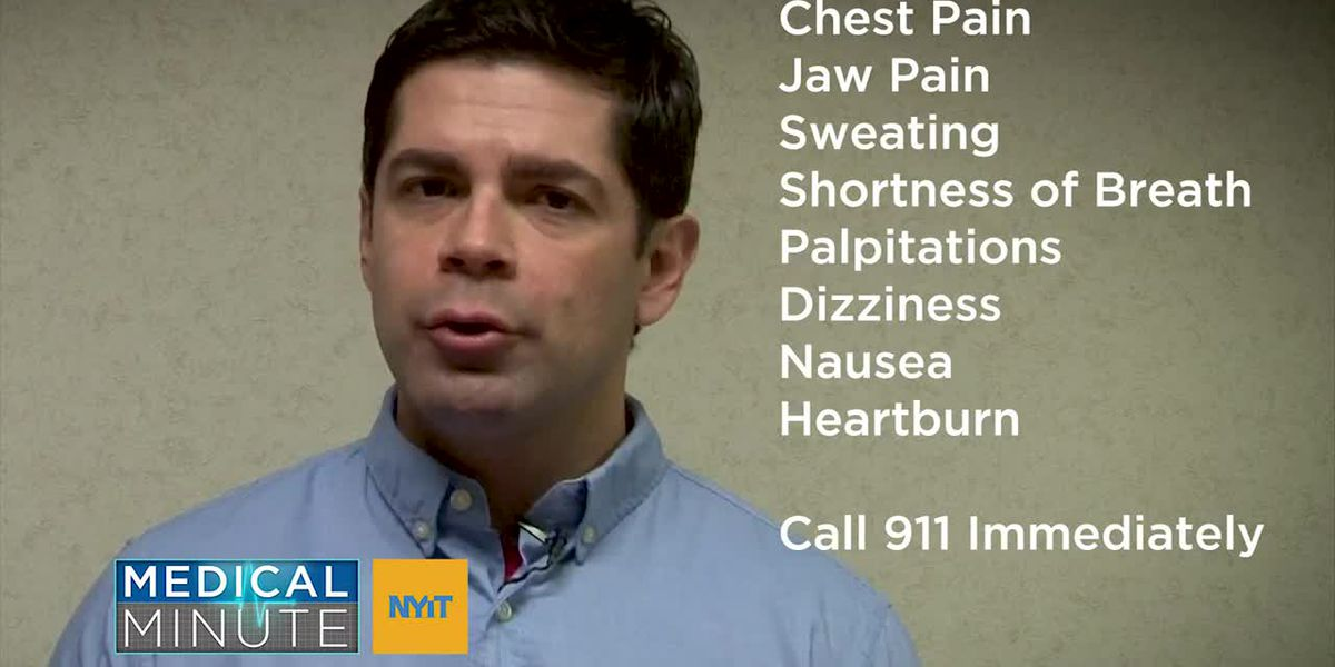 NYIT Medical Minute : Heart Attacks
