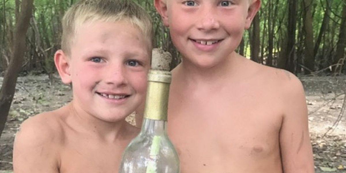 Message in a bottle found in Ste. Genevieve County connects two families