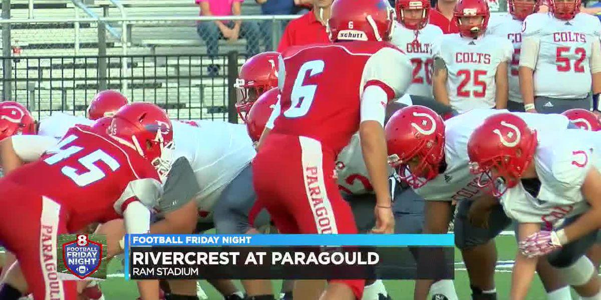 Rivercrest beats Paragould in season opener
