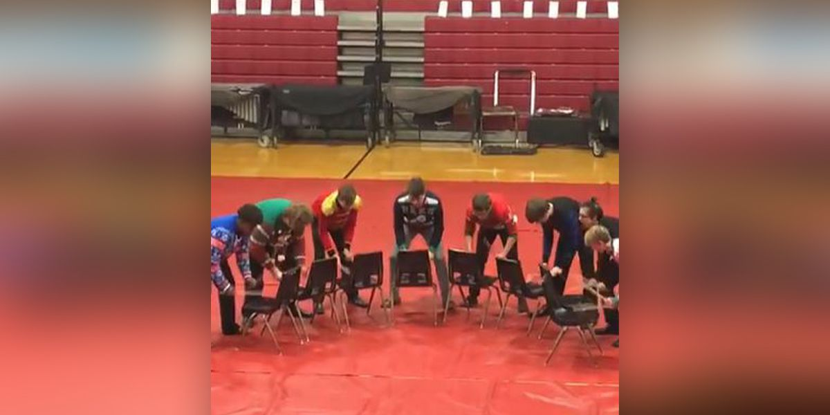 WATCH: Tennessee high school drum line goes viral with performance sans drums