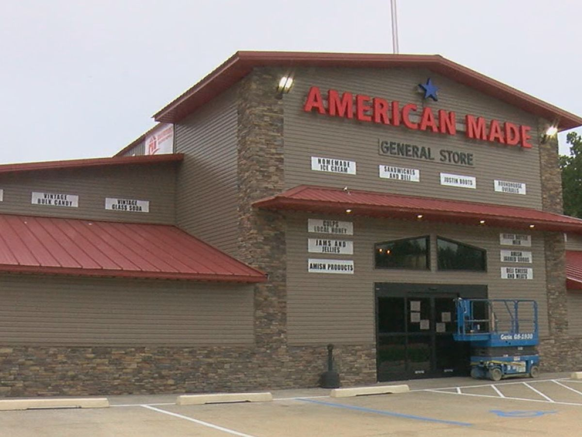 American Made General Store to open Saturday; mayor's pleased with business growth