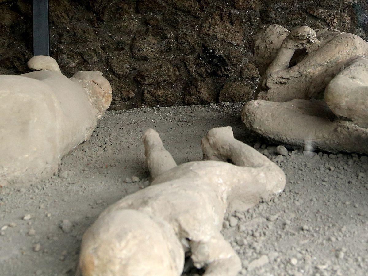 Mount Vesuvius eruption turned ancient victim's brain to glass