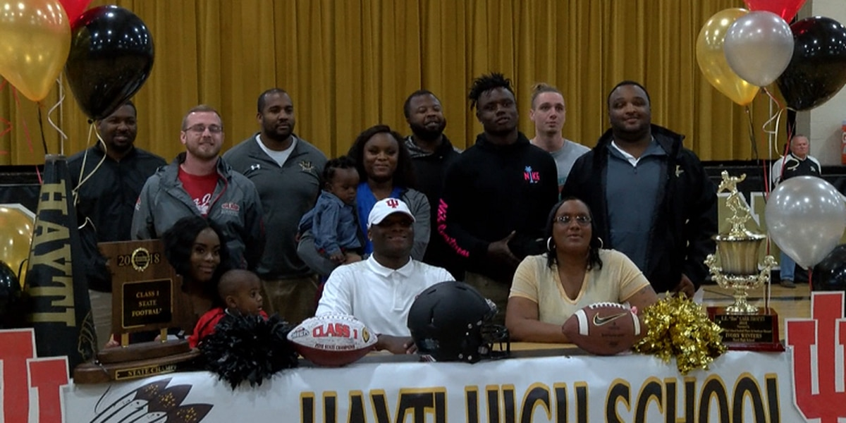 Hayti RB Ivory Winters signs with Indiana