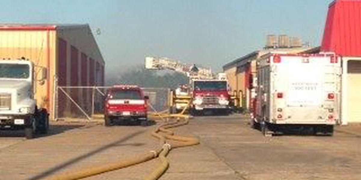 Fire at Paragould Warehouse Wednesday afternoon