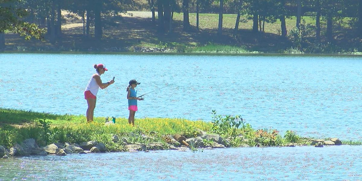 Labor Day fun at Craighead Forest Park