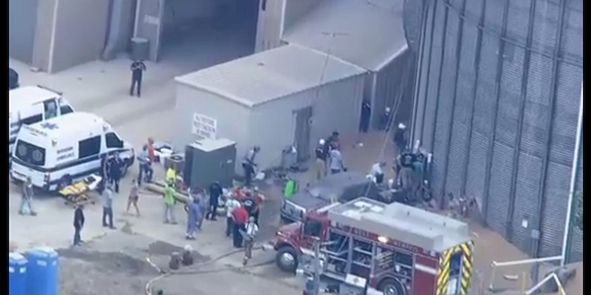 Both men trapped in grain bin identified