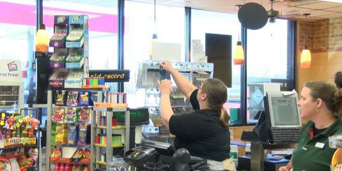 Gas stations swamped with Powerball ticket sales