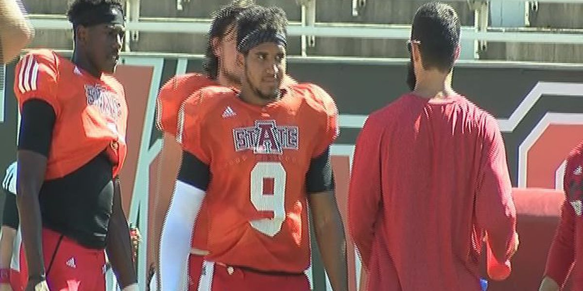 A-State continues fall camp, conducts full-contact team work