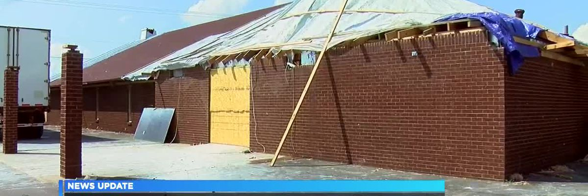 Church rebuilds after tornado in Lake City area