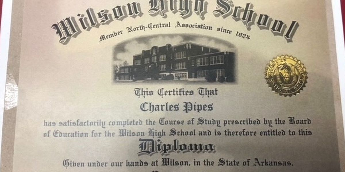 Veteran to get diploma from high school after 56 years