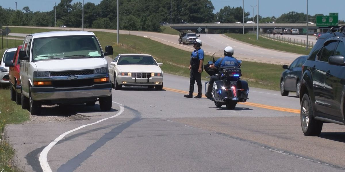 Three vehicle crash sends person to hospital