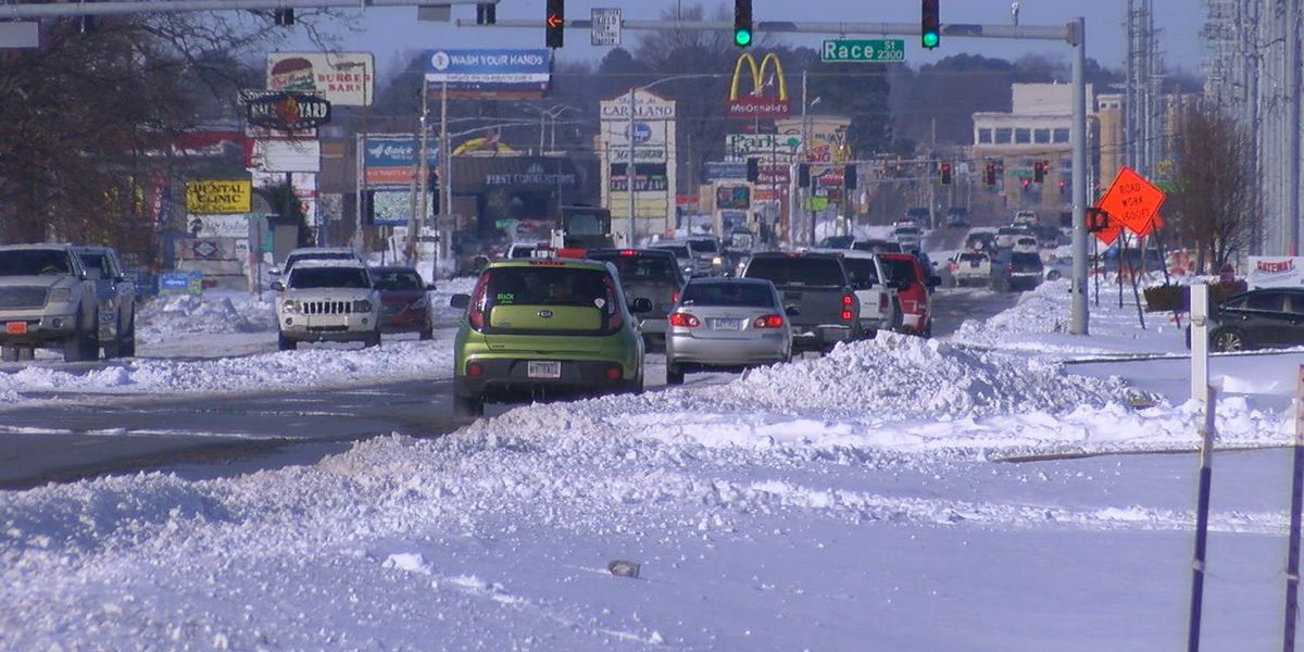 Sunshine a 'blessing' as ArDOT prepares for next winter storm