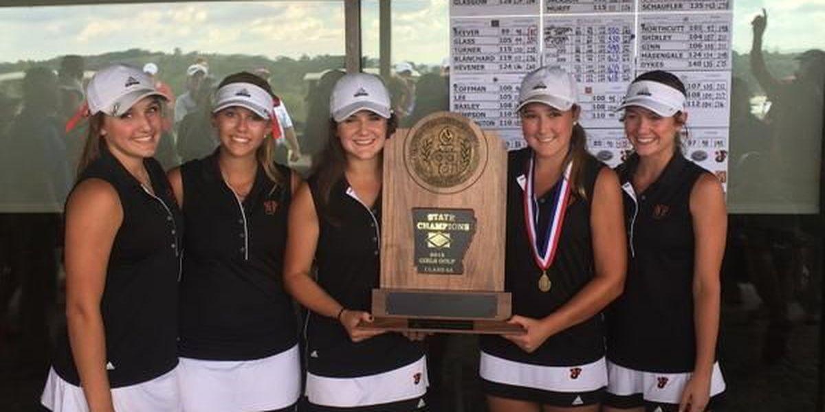 Jonesboro wins 6A Girls Golf State Championship