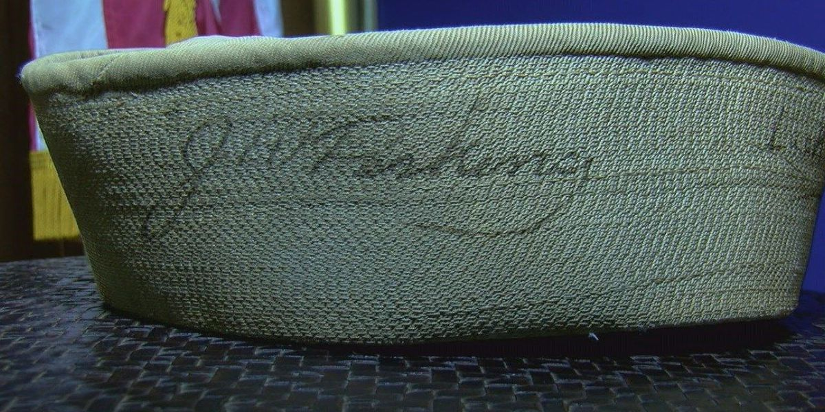 Navy hat being returned to sailor after decades
