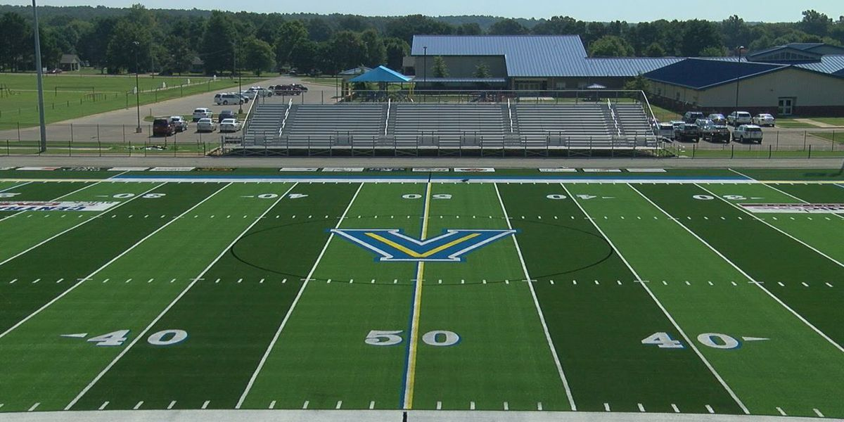 New Valley View football field complete for school year