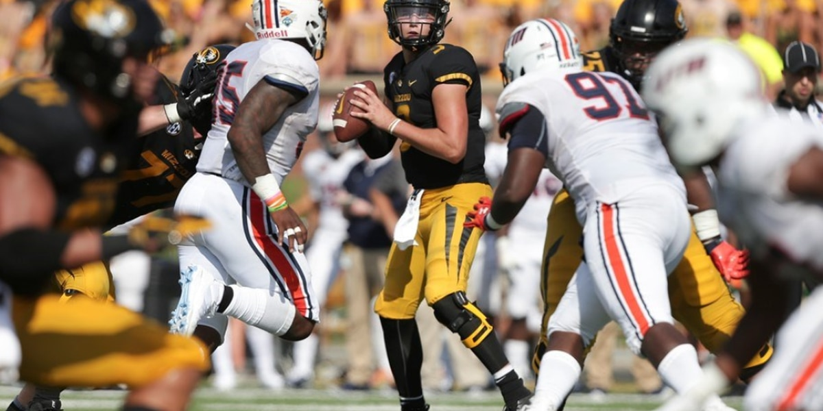 Lock has 4 TD passes as Missouri cruises in season opener