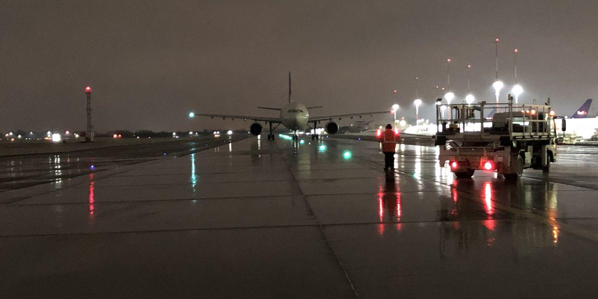 Several flights canceled at Memphis International Airport