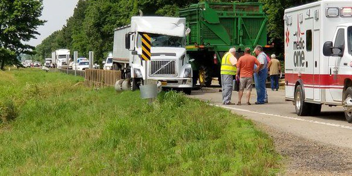 UPDATE: HWY 1 south of Harrisburg reopens after accident