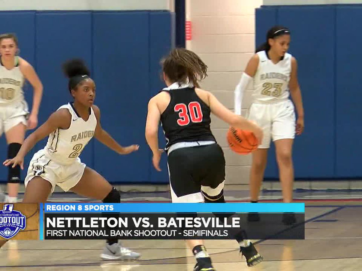 Semifinal Friday at First National Bank Shootout featured 37 pt performance by Isabella Higginbottom
