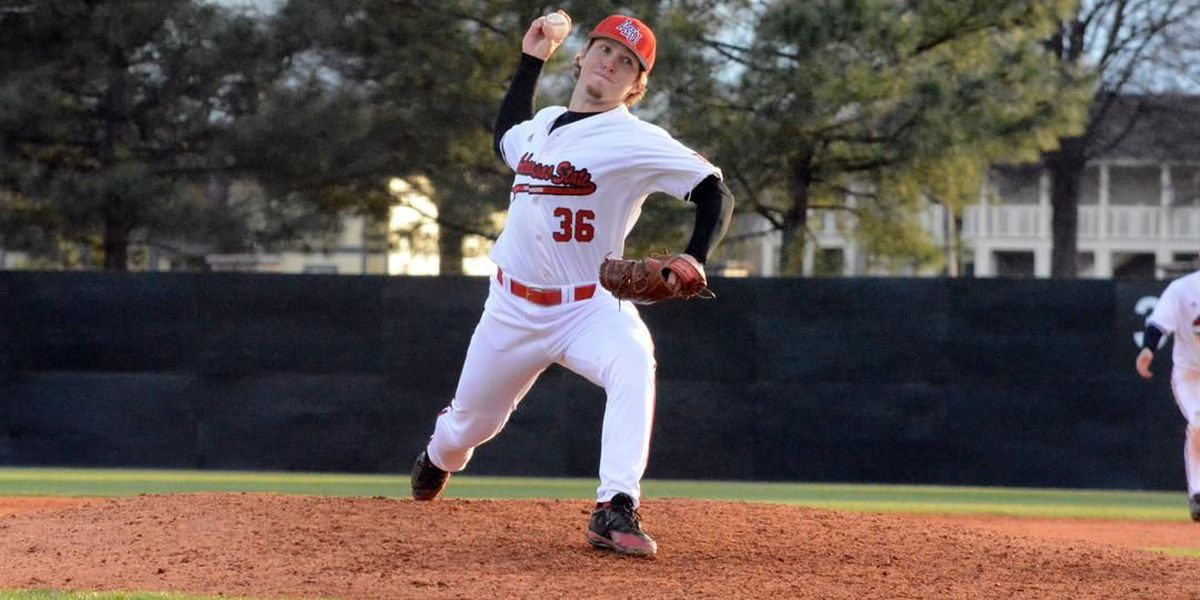 A-State's Zuber Chosen by Kansas City in Sixth Round of MLB Draft