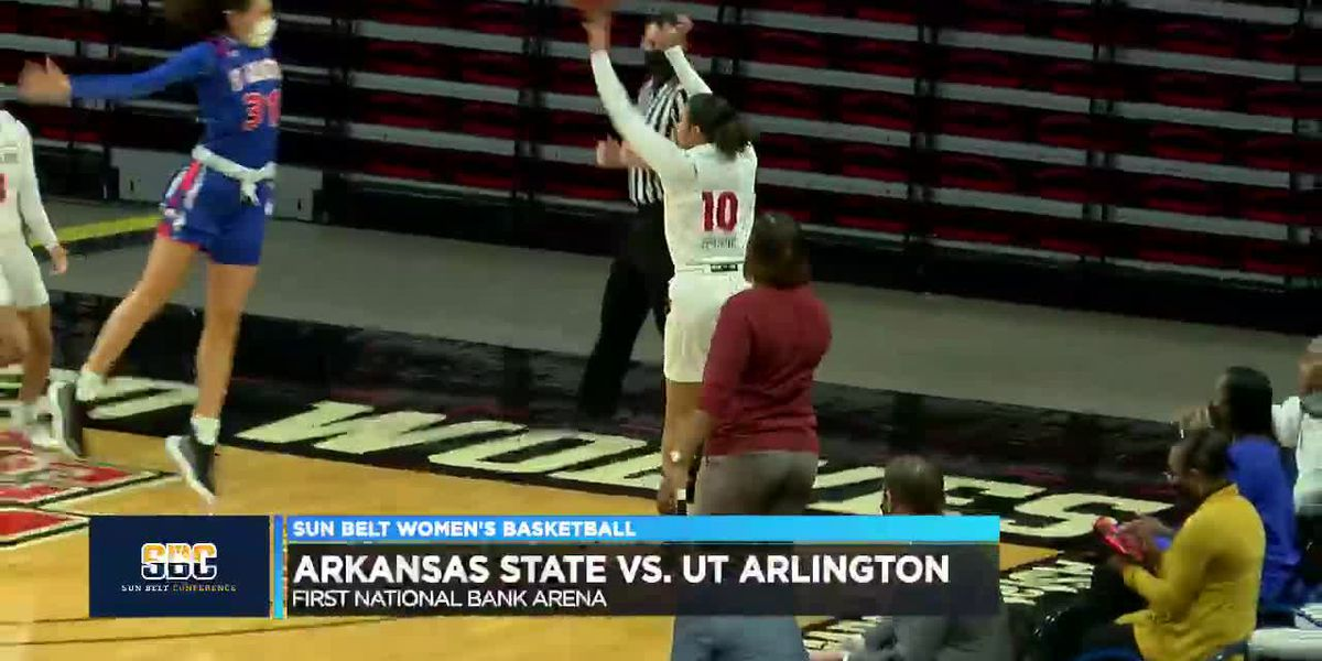 Jada Stinson has 13 pts but Arkansas State women fall to UT Arlington