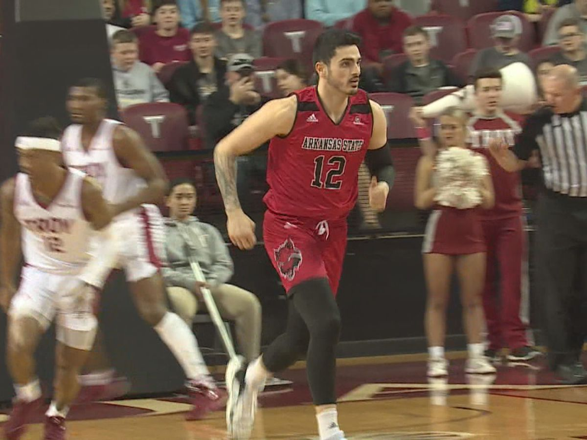 A-State men beat Troy to pick up season sweep