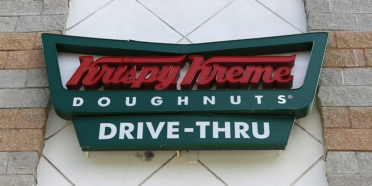 Krispy Kreme offering a dozen doughnuts for $1 on 12/12