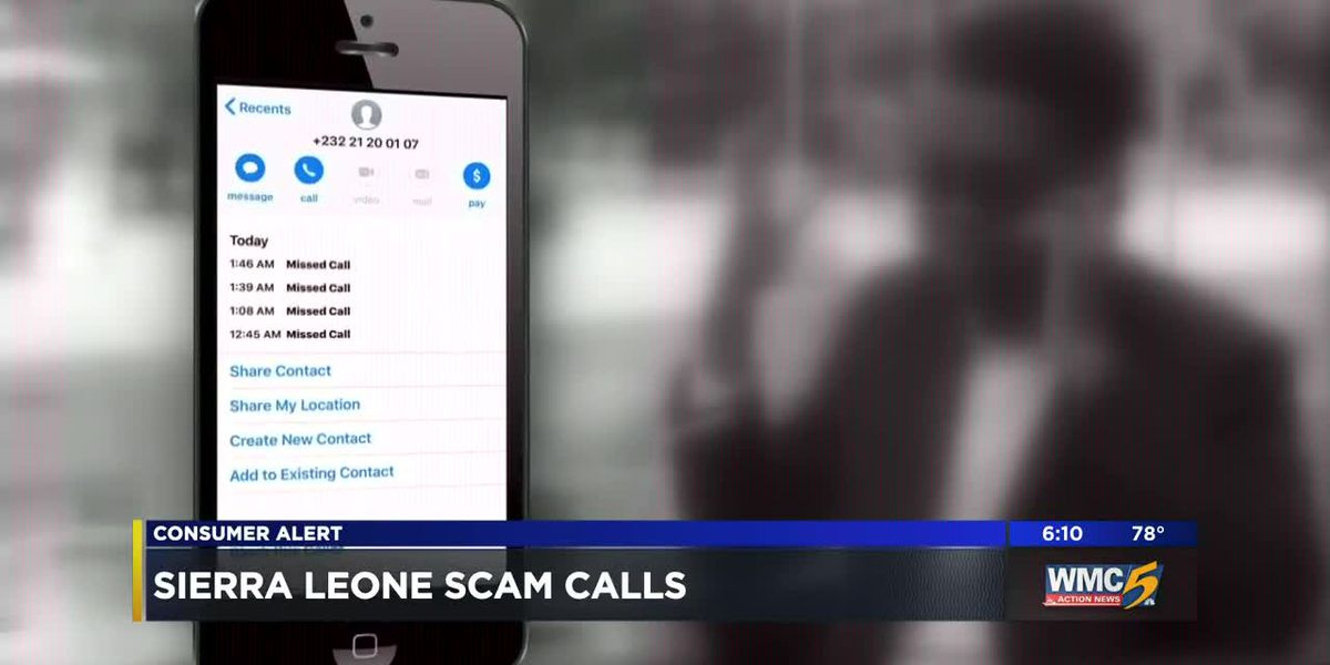 Mid-Southerners being bombarded with scam calls from Sierra Leone