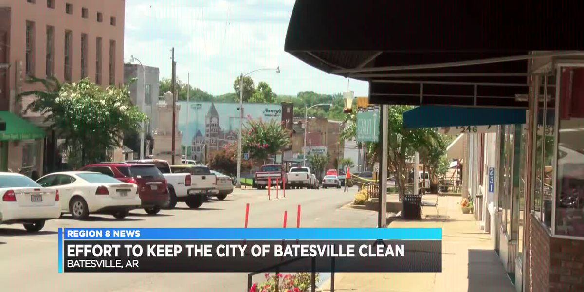 Effort to Keep the City of Batesville Clean