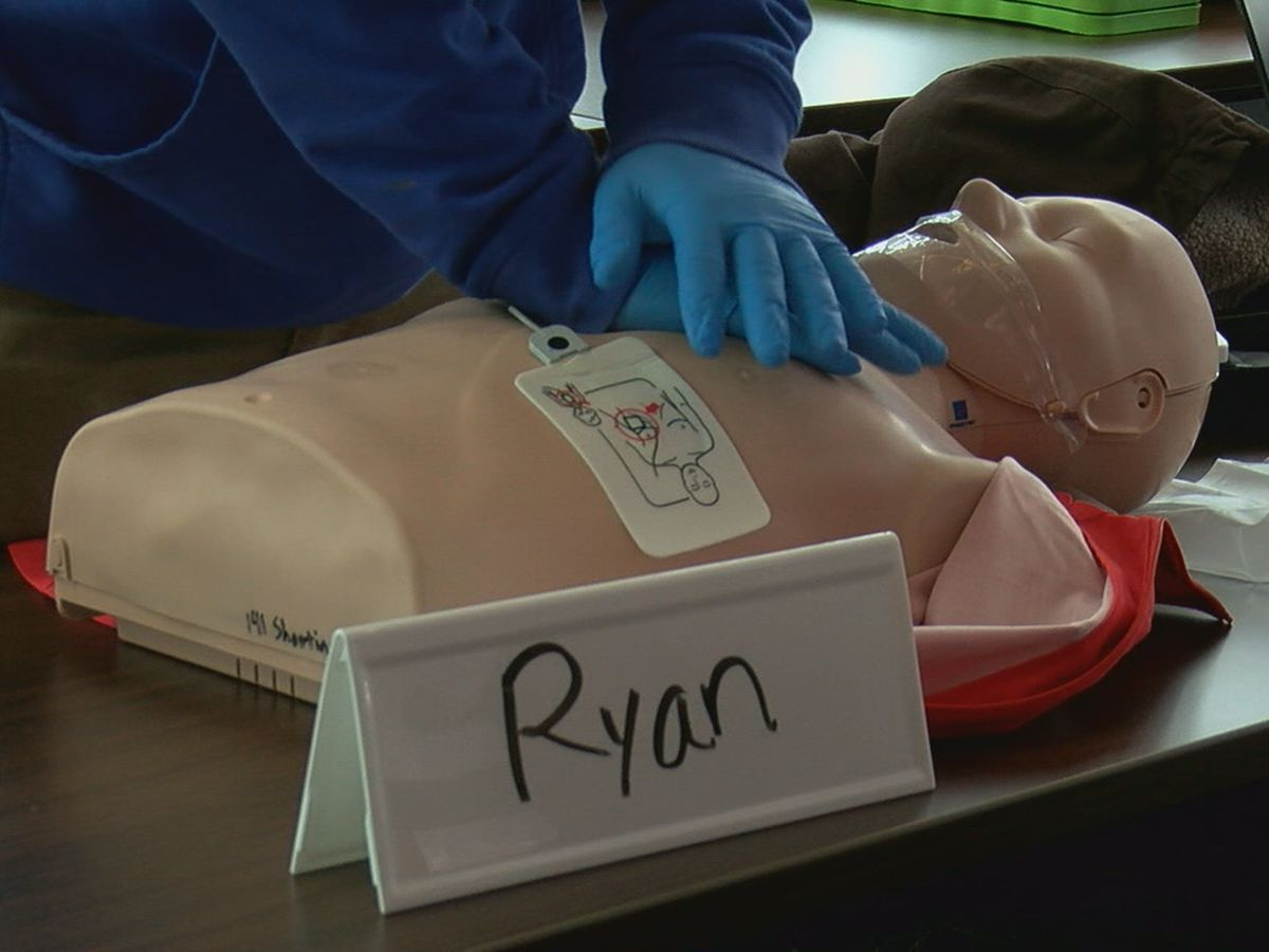 Instructor advises to have both first aid and CPR training