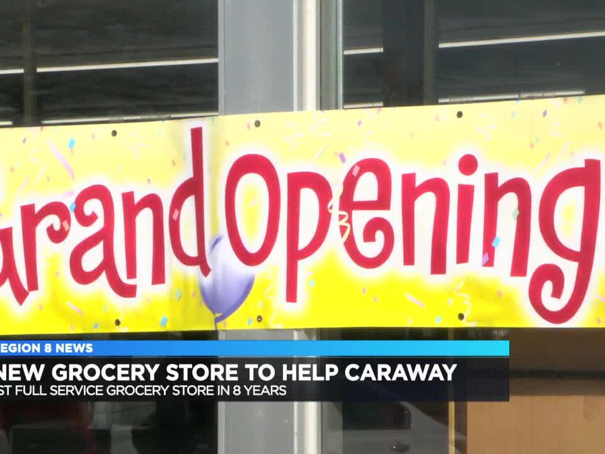 Caraway gets new grocery store after nearly 8 years