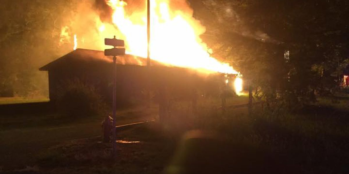 Vacant building destroyed, fire deemed suspicious