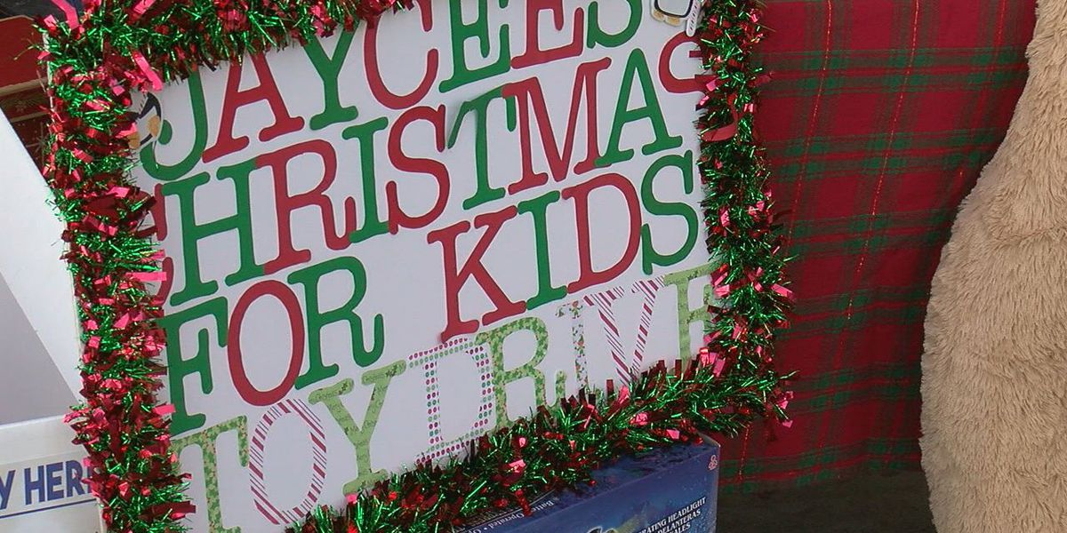 Jaycees taking toys for kids