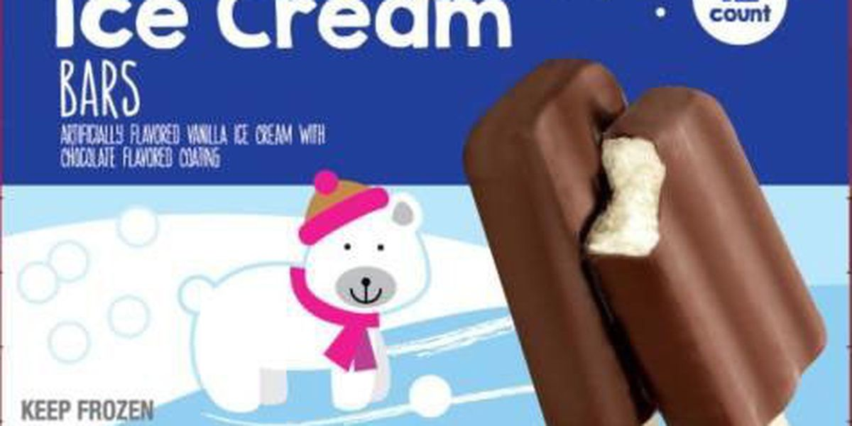 Company recalling ice cream bars sold at Kroger, Aldi over listeria fears