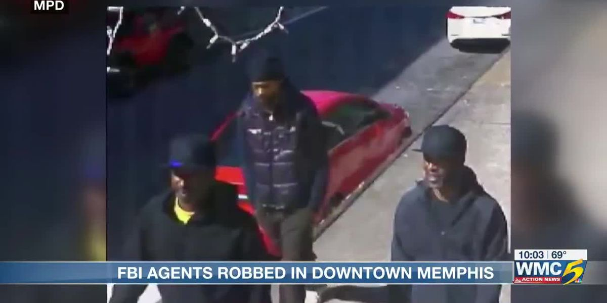3 men unknowingly rob two FBI special agents in Downtown Memphis